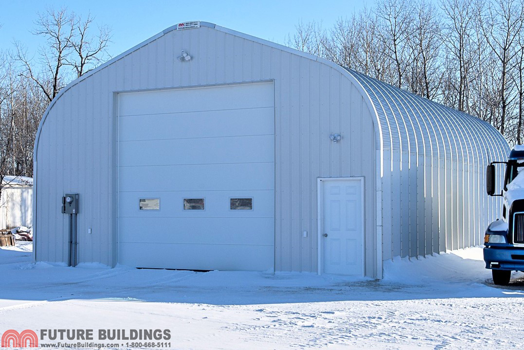 "Construction Of Steel Buildings: ""A"" Style Steel Building"