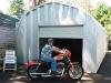 Angelo's Motorcycle Steel Workshop Building