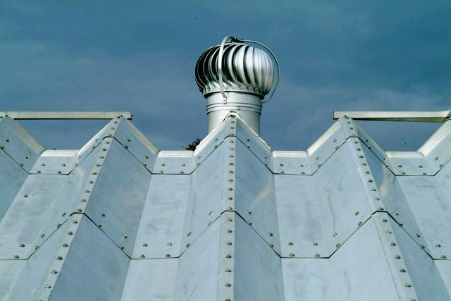 Turbine Vents For Roof Metal Future Buildings