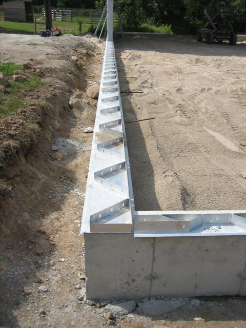 Steel Building Foundation Options From Future Buildings