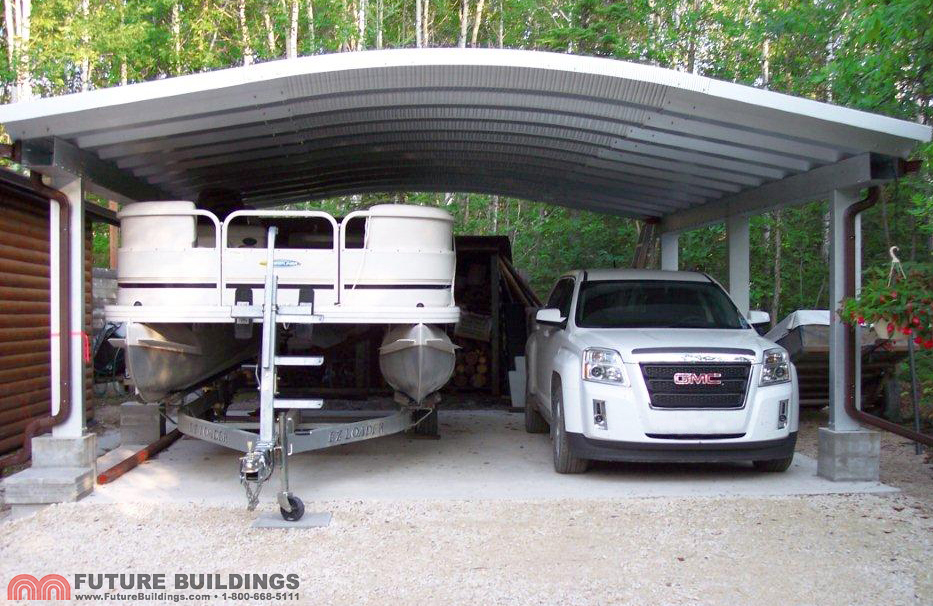 Metal Garages And Shelters : Metal carport kits steel shelters by future buildings