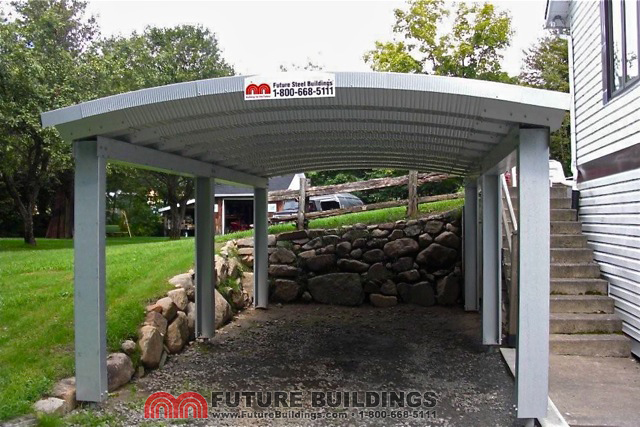 Metal Carport Carports Kits : Metal carport kits steel shelters future buildings