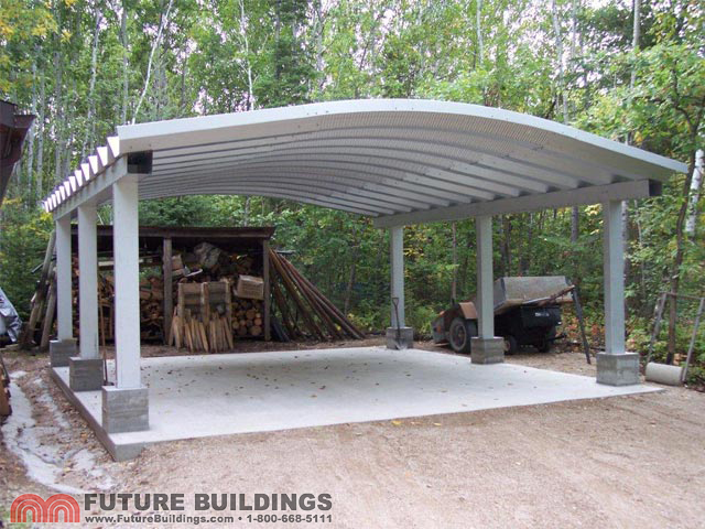 Metal Carport Kits Amp Steel Shelters Future Buildings