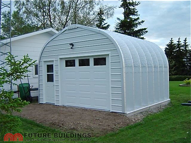 Steel garage kits by future buildings future buildings for Garage designs canada