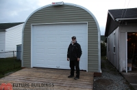 S style steel building future buildings for Garage packages nova scotia