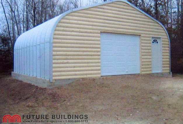 Steel Storage Building Was
