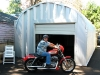 Secure Motorcylce Storage Building