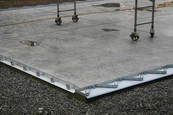Steel building foundation options from future buildings for House foundation options