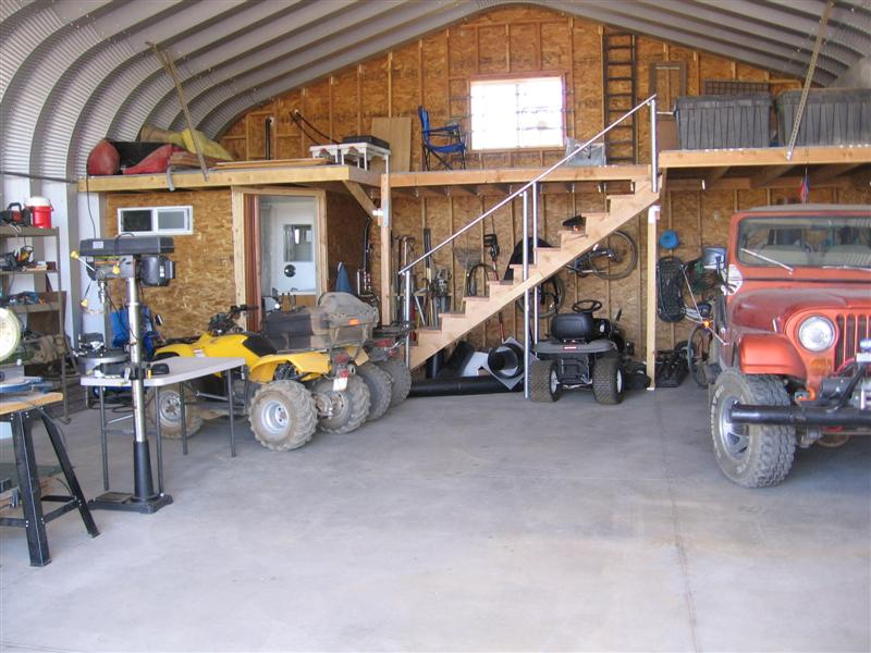 FUTURE BUILDINGS � A Man Cave Garage to Call Your Own