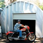 Steel Garage Storage Building