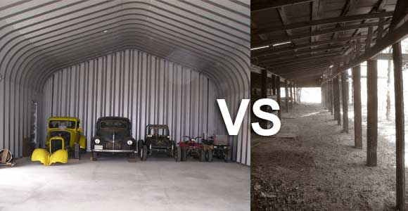 Pole Barn or Steel Barn – Which is Better? | Future Buildings