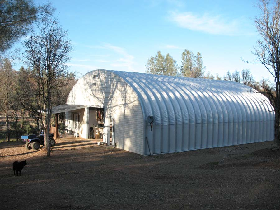 A Steel Building Home With Room For Fun Future Buildings