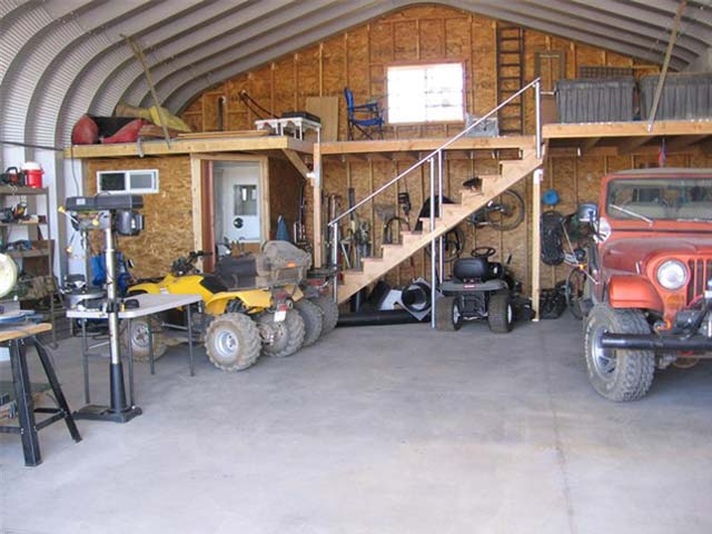 8 awesome man cave ideas future buildings for Diy garage storage loft