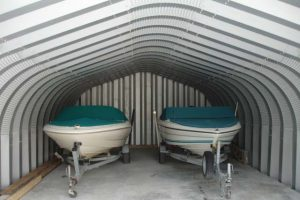 boat storage shed