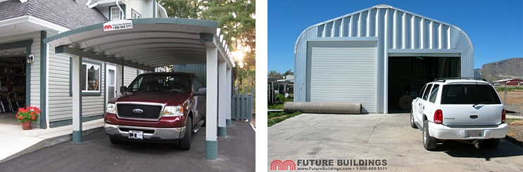 Metal Carport Building Kits & Prefabricated Steel Buildings