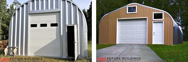 Prefabricated Steel Garage Kits