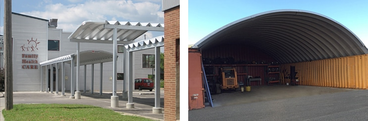 Metal Arch Roofing Systems