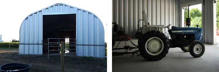 Steel Agricultural Sheds and Barns