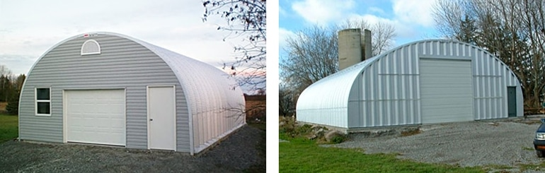 Prefabricated Quonset Huts, Homes and Buildings