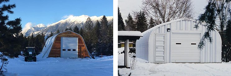 Preparing a Steel Building for the Winter