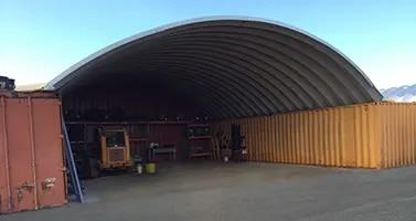 Container Cover 35' x 10' x 40'