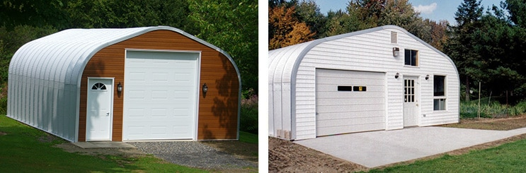 Applications for 25×30 Arched Steel Buildings