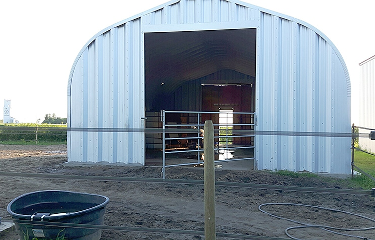 agricultural steel barns