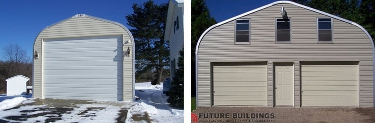 Metal Garage Kits and Prebuilt Garages: Which is Better?