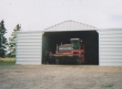commercial equipment storage building