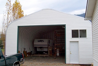 Garage and Storage Combo Buildings